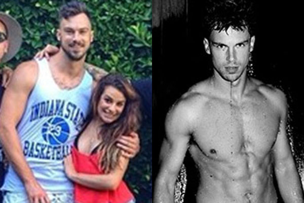 glee star dating gigolo The rachel berry of 'glee' reportedly falls for the former male escort  lea michele dating former gigolo  the glee star met her new man on the set of.