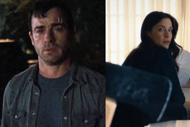 Creep-fest! Justin Theroux loses it in chilling new trailer for HBO's The Leftovers