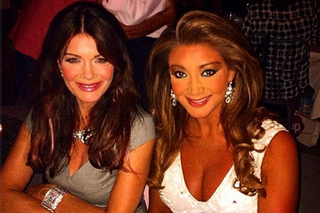Real Housewives of Melbourne's Gina Liano hangs with Beverly Hills' Lisa Vanderpump!