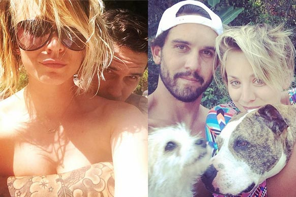 "Here at TheFIX we're in love with love... and so is <i>The Big Bang Theory</i>'s Kaley Cuoco!<br/><br/>Almost every day we're treated to Instagram shots of the bubbly blonde and her tennis pro hubby Ryan Sweeting doing EVERYTHING together. Couples' yoga? Check. Matching tattoos? Check. Bedroom selfies? Check. Feel the love just bursting out of the screen in our slideshow devoted to the Cuoco-Sweetings.<br/><br/>Images: Instagram/normancook (Kaley Cuoco). <b><a target=""_blank"" href=""http://instagram.com/thefixinsta"">Follow TheFIX on Instagram!</a></b><br/><br/>Author: Adam Bub. <b><a target=""_blank"" href=""http://twitter.com/TheAdamBub"">Follow on Twitter</a></b>."