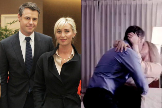 Steamy affairs and political scandal: First look at Asher Keddie and Rodger Corser's new series Party Tricks