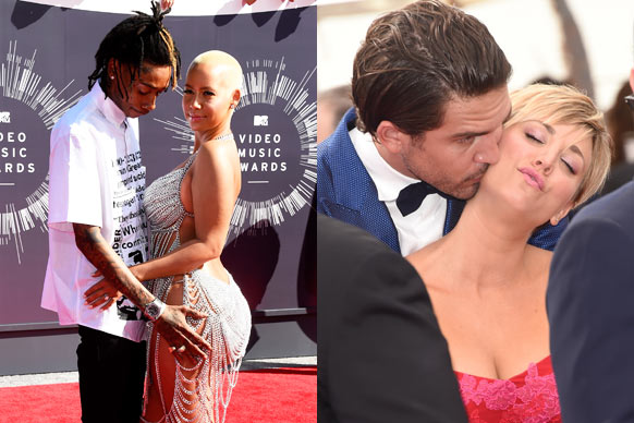 "This week's VMAs and Emmys gave Hollywood couples double the chance to show off their love on the red carpet. We're talking matching outfits, touchy-feely poses and a good ol' smooch-a-rama for the cameras. Oh the joys of love...<br/><br/>Scroll to see who got handsy and who got fancy!<br/><br/>Author: Adam Bub. <b><a target=""_blank"" href=""http://twitter.com/TheAdamBub"">Follow on Twitter</a></b>. Approved by Amy Nelmes."