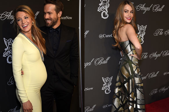 Blake Lively makes pregnancy looks like the easiest thing in the world! Okay, so she would've had a glam squad but damn is she one yummy mummy-to-be. The 27-year-old <i>Gossip Girl</i> star and husby Ryan Reynolds made their first red-carpet appearance together since recently announcing they've got a bun in the oven. <br/><br/>Stealing the show at the 2014 Angel Ball in New York on Monday, the genetically-blessed Hollywood couple packed on the PDAs big time... which means they totally won the red carpet. <br/><br/>There are however, a few A-listers who deserve an 'A' for effort! Flick through Blake's high-fash alumni here... <br/><br/><br/>
