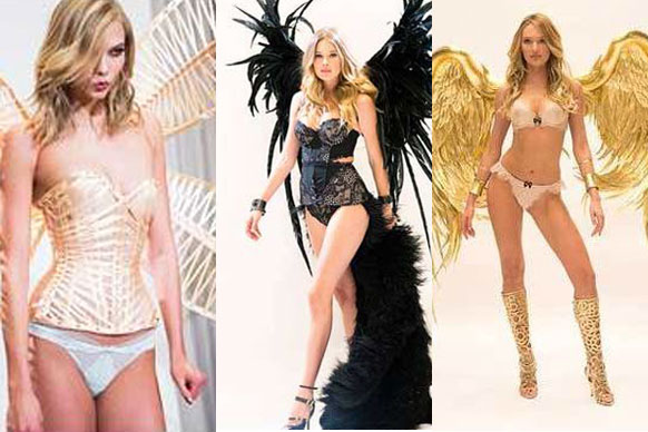 We're on official countdown until the annual Victoria Secrets show! Taking place in early December, the angels are already giving us a glimpse of the amazing outfits they'll be wearing on the big day. Yep, we literally can't wait now!