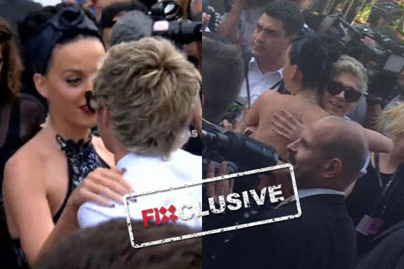 Visiting pop stars Katy Perry and One Direction walked the 2014 ARIA Awards red carpet at The Star in Sydney... but it turns out Katy only wanted to talk to one member of the band!<br/><br/>TheFIX exclusively caught on camera the intimate moment when Katy did a u-turn just to have a hug and chat with blonde 1D star Niall Horan. The 30-year-old singer didn't blink an eyelid as the rest of the band passed, having a flirty conversation with 21-year-old Niall. Keep scrolling for the full story, pics and video!<br/><br/>Images: Amy Nelmes, ninemsn, taken from pizzAperta, Star. Authors: Adam Bub and Amy Nelmes.