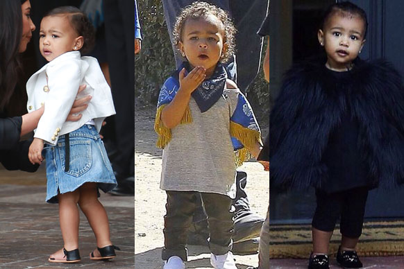 TheFIX has got a new fave fashionista... and she's only 15 months old. <br/><br/>Yep, Kim Kardashian and Kanye West's teeny-tiny toddler's raced straight to the top of the style stakes this week, with snaps of North's haute couture capelet filling our social media feeds... and making us eternally jealous of the Tinseltown trendsetter. <br/><br/>From Yeezy tees to patent Doc Martens, here's why Nori's the perfect mini model...