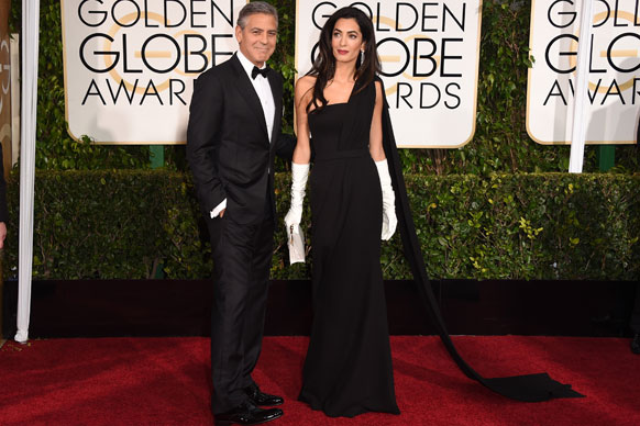 George and Amal Clooney were major drawcards at The 72nd Annual Golden Globe Awards.<br/><br/>All eyes were on the newlyweds as they stepped onto their very first red carpet as husband and wife. <br/><br/>But we couldn't help but notice that the pair, particularly Amal, seemed incredibly uninterested by the whole event. <br/><br/>Click through to see our favourite #BoredAmal moments… <br/><br/>Words: Claire Knight