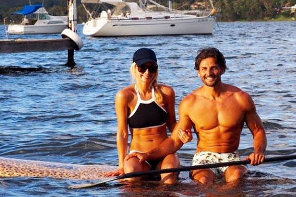 From beach selfies to koala cuddles, Aussie pride is out in full force on celebrities' social media accounts this Australia Day. And if you're Tim and Anna from <i>The Bachelor</i>, it's yet another excuse to parade around those hot bods on paddle boards... not that we're complaining, right?<br/><br/>Let's see how our fave stars have been celebrating Australia Day.