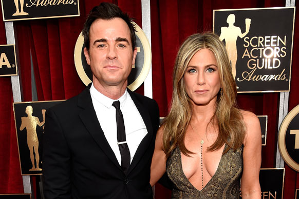 The who's who of Hollywood have stepped out for the 21st Annual Screen Actors Guild Awards at The Shrine Auditorium in LA.<br/><br/>Leading the pack in the style stakes are Jennifer Aniston, newly engaged couple Sofia Vergara and Joe Manganiello and the always-chic Julia Roberts.<br/><br/>Scroll to see all the glitz and glam from the SAGs. Extreme cleavage alert!<br/><br/>Images: Getty. Author: Adam Bub.