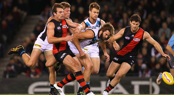 Bombers win over Port comes at a cost