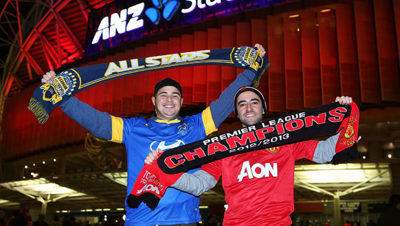 A-League All Stars v Man Utd