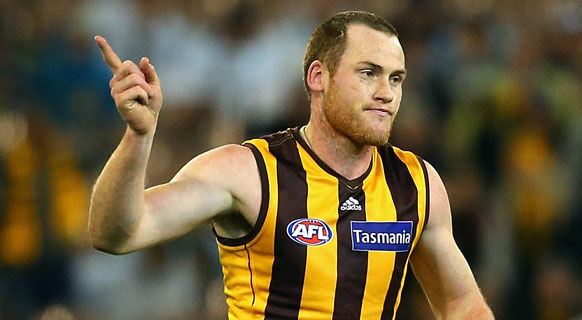Jarryd Roughead has been ruled out of football indefinitely. (AAP)