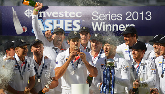 England retain the Ashes 3-0