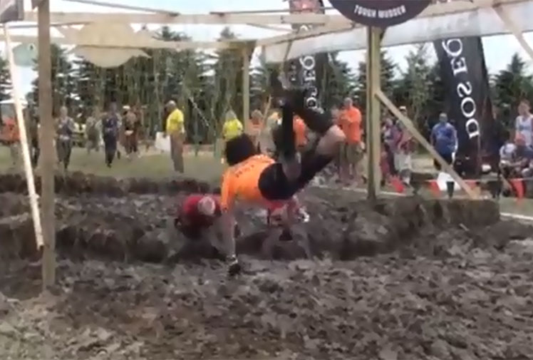 <b>Once only associated with military training, extreme obstacle courses are now a norm for weekend warriors around the globe.</b><br/><br/>The popular Tough Mudder events are designed to push runners to their limits and there are countless of examples of competitors meeting their match, physically and mentally.<br/><br/>The following videos should serve as a stark warning that extreme events can often result in extreme fails...<br/>