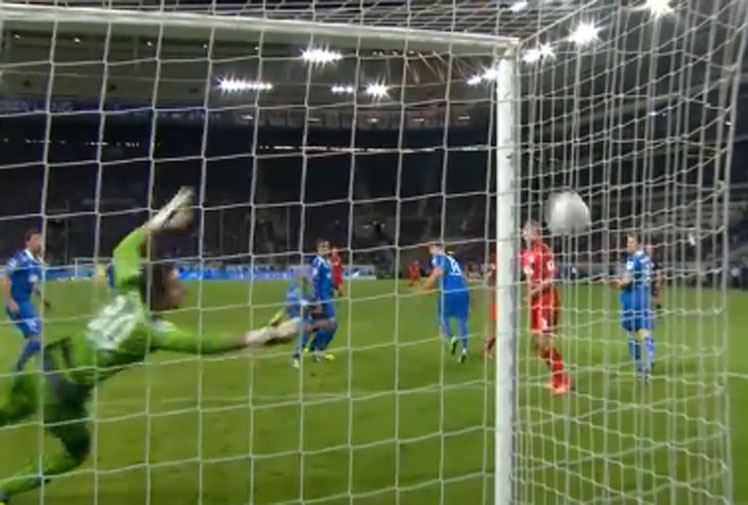 <b>Hoffenheim lost their bid for a replay of a Bundesliga match won by Bayer Leverkusen with a goal that should not have been allowed.</b><br/><br/>Leverkusen's Stefan Kiessling was awarded the goal by referee Felix Brych in the October 18 game when his header hit the side-netting and rolled into the goal through a hole.<br/><br/>Football is littered with 'ghost goals', as these videos prove.<br/><br/>
