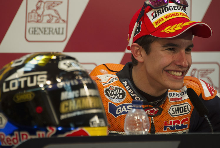 <b>Marc Marquez is on a fast-track to greatness after becoming the youngest-ever MotoGP world champion at the age of 20.</b><br/><br/>The Spaniard wrapped up the title with third place in the Valencia Grand Prix to make his signing by Repsol Honda one of the most astute in recent times.<br/><br/>Marquez replaced Australian Casey Stoner and is the first rookie to clinch the premier class championship since American Kenny Roberts triumphed in 1978.