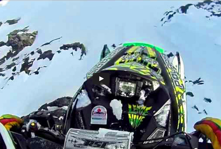 <b>For those of you who've never heard of Dan Treadway, he is one of Canada's most extreme snowmobile riders. </b><br/><br/>He's been performing death-defying stunts in the snow since he was a child and recently landed an incredible 30 metre plunge off a cliff near Whistler.<br/><br/>While extraordinary footage of the feat has emerged online it's important to note that snowmobiling is an incredibly dangerous sport when it comes to stunts. Check out these videos...<br/>
