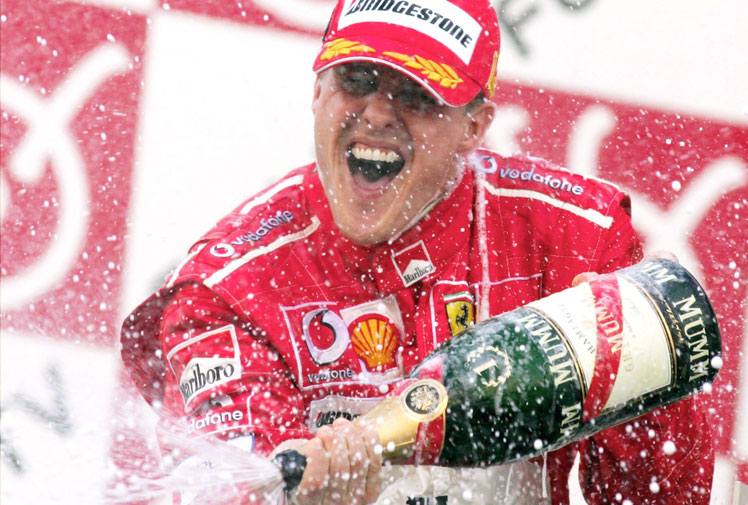 <b>Michael Schumacher, the retired seven-time Formula One champion, has undergone brain surgery and is in a critical condition after suffering a head injury in a skiing accident in the French Alps.</b><br/><br/>Schumacher, who won the last of his world titles in 2004, definitively retired in 2012 after the Brazilian Grand Prix, in which he finished seventh, after an abandoned attempt to quit six years earlier.<br/><br/>Since his debut in 1991, the German towered over the sport, winning more F1 world titles and races than any other driver. He had a record 91 wins and is one of only two men to reach 300 grands prix.<br/><br/>(All images: Getty)<br/>
