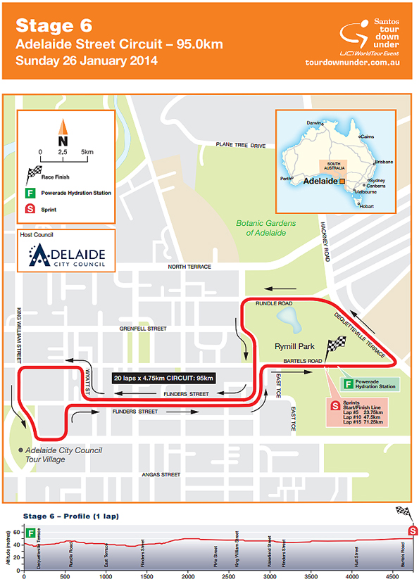 Stage 5 - Adelaide