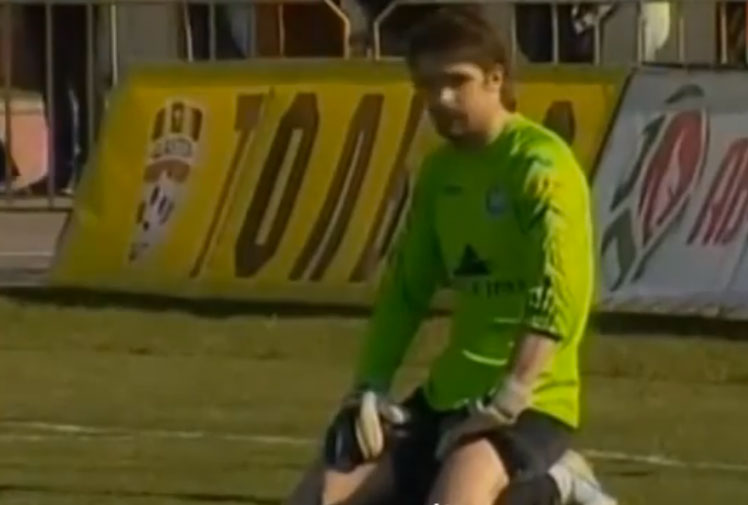 <p>A goalkeeper in Belarus has gifted his opponents two goals after a bizarre double blunder in the opening match of the season.</p><br/><p>BATE Borisov's Latvian custodian Germans Malins made two unforgiveable gaffes as he first palmed the ball into his own net before failing to control a back-pass, gifting an opposing Shakhtyor striker an easy tap-in to secure a 2-0 win. </p><br/><p>Malins' calamitous errors have been compared to some of the worst goalkeeping mistakes of all time. Is it the worst you have ever seen?</p><br/>
