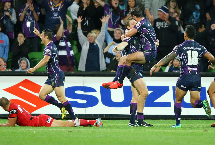 <b>Young Tonumaipea may not be a household name when it comes to Australian sport, but he now has a rare place in history.</b><br/><br/>The winger was on the receiving end of a frantic piece of play last night that earned Melbourne Storm a miraculous after-the-siren try to defeat St George Illawarra in the NRL.<br/><br/>The victory is being compared to some of the greatest last-gasp plays in sport, across all codes.<br/><br/>How do you think it rates against these gems?