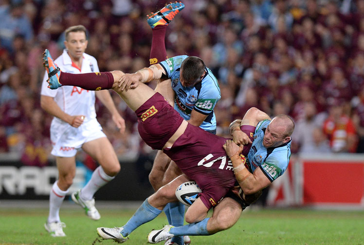 "<b>The State of Origin's 100th match couldn't have been scripted much better.</b><br/><br/>New South Wales saw off Queensland in an epic match at Brisbane's Suncorp Stadium that was punctuated by drama from the opening salvos.<br/><br/>While the Maroons face the rest of the series without Cooper Cronk, who broke his arm, New South Wales will be sweating on the future of Josh Reynolds who was reported for a dangerous tackle.<br/><br/><a href=""http://livescores.ninemsn.com.au/matches/nrl/match32867.html""><b>Match stats:</b> QLD v NSW</a><br/><a href=""http://www.jump-in.com.au/show/state-of-origin/#/show/state-of-origin/#/show/state-of-origin/""><b>9jumpin:</b> Origin video</a></p><br/><br/><br/><br/>"