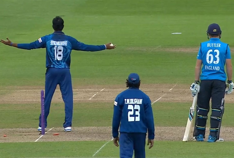 The controversial mankad run out of blazing Engalnd wicketkeeper Jos Buttler during a clash with Sri Lanka at Lords on Saturday caused a furore in the English dressing room.<br/><br/>But it's certainly not the first time this much-despised dismissal method - first unveiled by Indian bowler Vinoo Mankad to run out Australian Bill Brown at the SCG in 1947 - has has raised the ire of opponents and fans.<br/><br/>Click through to watch our series of mankads and controversial run outs starting with Kapil Dev's dismissal of South African Peter Kirsten at Port Elizabeth in 1992.