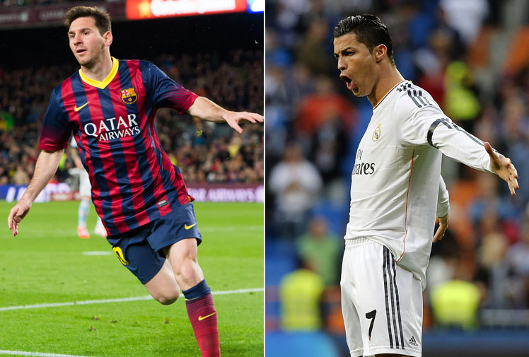 <b>A market study has attempted to put a dollar value on the rivalry between Lionel Messi and Cristiano Ronaldo, declaring the pint-sized Argentinean is worth $167m more than his Portugese rival. </b><br/><br/>The two are clearly the best footballers of their generation, with six world player of the year crowns and five Champions League wins between them, it has often been a moot point for fans as to who's the best. <br/><br/>While the highlights reels for both players are incredibly lengthy, we've compiled some of their best goals to help you decide who's worth the most.<br/>