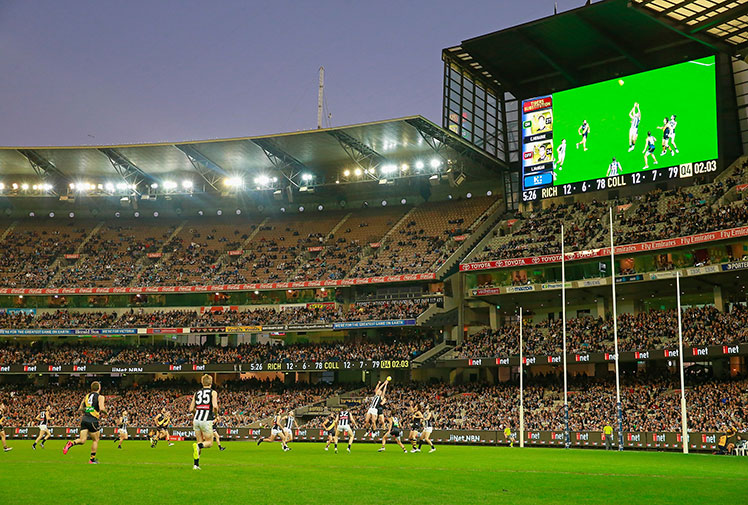<b>The AFL has retained its standing as the fourth-best attended sporting competition in the world, behind the NFL, German football's top-flight and its English equivalent. </b><br/><br/>The average attendance for AFL home and away matches in 2014 was 32,436 - a figure bolstered by the huge crowds drawn to the refurbished Adelaide Oval to watch the Power and the Crows.<br/><br/>The two Adelaide sides and three of Melbourne's most popular clubs - Collingwood, Essendon and Richmond - all attracted an average of more than 43,000 fans to their home games.<br/>