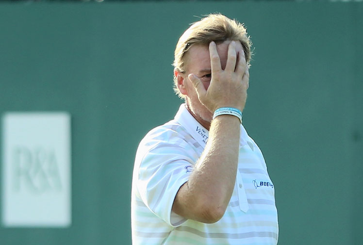 <b>He may possess one of the most sublime swings in golf, but South Africa's Ernie Els has provided a horrible reminder of what can happen when things go wrong on course.</b><br/><br/>Els began his hunt for a third British Open title in the worst possible fashion when his drive off the first tee hit a fan in the face.<br/><br/>Tiger Woods also collected a course marshal in his opening round, proving that the normally genteel game can be hazardous. Indeed, golf is often a blood sport...<br/><br/><br/>