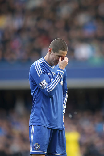 <b>The Chelsea nightmare is almost over for Fernando Torres with news the striker is set for a move to Italian giants AC Milan.</b><br/><br/>The Spanish international arrived from Liverpool in 2011 with a big reputation and an even bigger price-tag – a British record fee of $90 million.<br/><br/>But the 30-year-old failed to deliver, scoring just 20 goals in 110 appearances for the Blues.<br/><br/>That type of goal-to-games ratio means Torres can now be rated amongst the world's most expensive football flops …