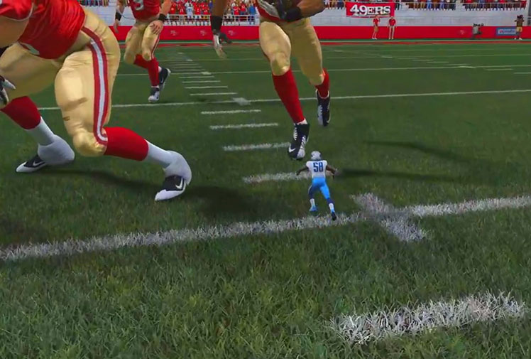 <b>A glitch in popular American football video game Madden 15 has gone viral after it rendered a tiny player on the field.</b><br/><br/>The miniature version of Cleveland Browns rookie linebacker Christian Kirksey, incorrectly dressed in a Tennessee Titan uniform has spawned numerous videos online showing the nimble 'Tiny Titan' in action.<br/><br/>Video game glitches are a fairly common occurrence and often result in hilarious situations for gamers.<br/><br/>Click through and decide for yourself if this is the best sporting game glitch?