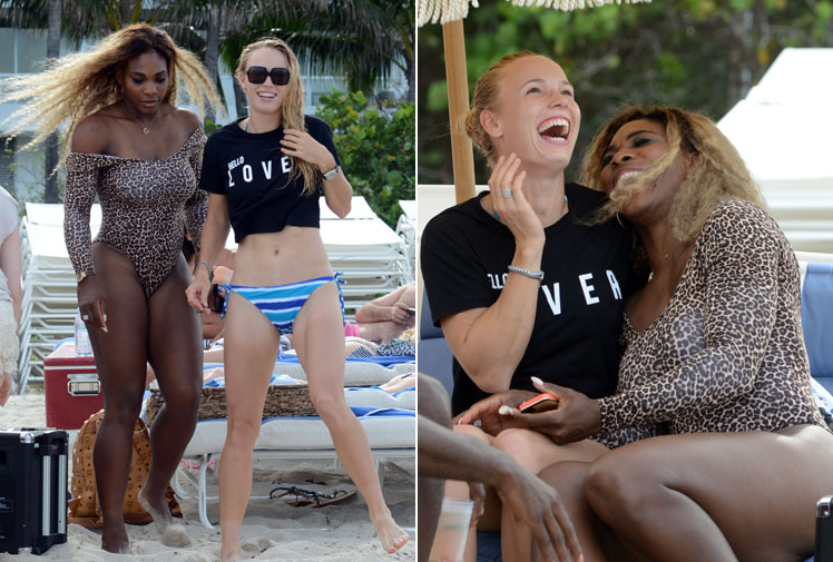<b>Caroline Wozniacki and Serena Williams will put their friendship aside as they face off for the US Open title on Sunday. </b><br/><br/>The pair, who were photographed together at a Miami beach in May after Rory McIlroy ended his engagement with Wozniacki, are on the opposite end of the spectrum in terms of grand slam experience.<br/> <br/>Two-time defending champion Williams will be vying for her 18th major title while the Danish former world No.1 is chasing her first grand slam title.  <br/>