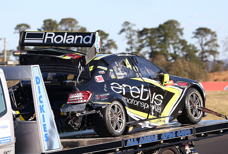 <b>Ford youngster Chaz Mostert has won his maiden Bathurst 1000 title in extraordinary circumstances at Mount Panorama.</b><br/><br/>Mostert, who started from stone last in 25th spot, did not lead until the last lap when he overtook championship leader and Holden star Jamie Whincup to hit the front. No driver had previously won the endurance classic from further back than 19th.<br/><br/>The 161-lap epic ended nearly eight hours after it started, following an unprecedented one-hour stoppage to repair a damaged section of the track surface<br/>