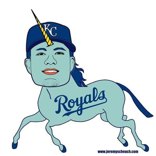<b>How far would you go to see your team break a 29 year title drought?</b><br/><br/>Die-hard baseball fan Jeremy Scheuch is willing to tattoo unicorn-styled caricatures of the Kansas City Royals team to his backside. Beat that!<br/><br/>The desperate move is a last-ditch attempt to secure tickets for the upcoming Major League Baseball World Series that sees the Royals face-off against the San Francisco Giants. <br/><br/>As disturbing as tattoing one of the following images to your butt may seem, Scheuch is not alone in letting his fantacism run skin deep ...