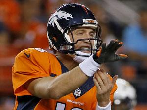 Denver Broncos quarterback Peyton Manning. (AAP)