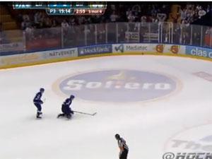 Swedish ice hockey player Johan Ryno.