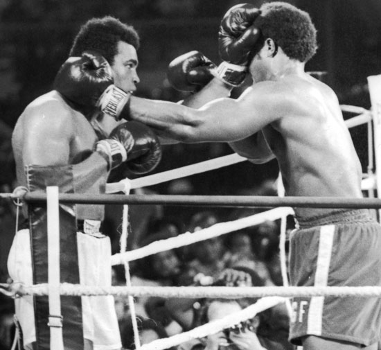 "<b>Officials in Kinshasa have revealed that the ring used for boxing's famous ""Rumble in the Jungle"" between Muhammad Ali and George Foreman has been stolen.</b><br/><br/>A leading sports official in the Democratic Republic of Congo (formerly Zaire), who wished to remain anonymous, made the embarrassing admission as fans marked 40 years since one of the most famous and brutal bouts in the sport's history.<br/><br/>Ali and Foreman climbed into the ring at dawn on October 30, 1974."