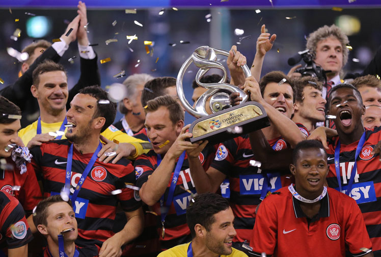 <b>The Western Sydney Wanderers have stormed into the record books after becoming the first Australian football club to win the Asian Champions League title.</b><br/><br/>The A-League side overcame Saudi powerhouse Al-Hilal in the two-legged final, claiming the crown with a tense 0-0 away draw after winning the first match 1-0 at home last week.<br/><br/>The Wanderers needed all their defensive might, and a little luck, to shut out their more fancied opponents, but held on to become the new kings of Asia.<br/>