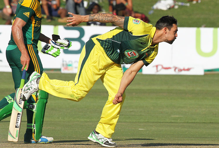 "<b>Mitchell Johnson's standing as the world's most feared paceman has been confirmed after the Australian was named the ICC's Cricketer of the Year.  </b><br/><br/><a href=""http://wwos.ninemsn.com.au/article.aspx?id=8929506""><i>Johnson was named winner of the prestigious Sir Garfield Sobers Trophy on Friday,</i></a> having also been named the ICC's Cricketer of the Year in 2009.<br/><br/>Winning the sport's highest individual honour caps his fairytale second coming which featured bouts of devastating bowling that saw many of the game's best batsmen ducking for cover. Re-live some of his greatest hits!<br/>"