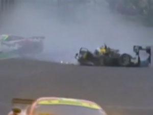 Webber survives horror crash in Brazil