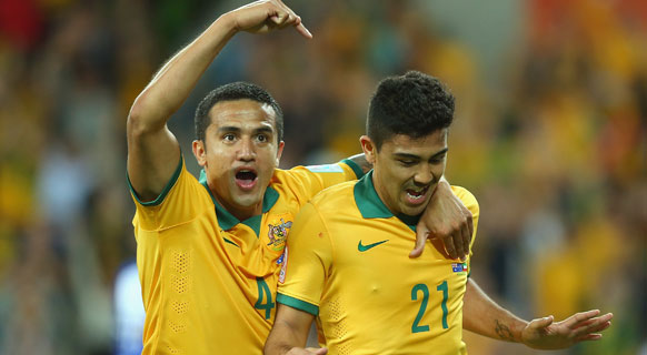 Cahill was quick to help mark a new era for the Socceroos.