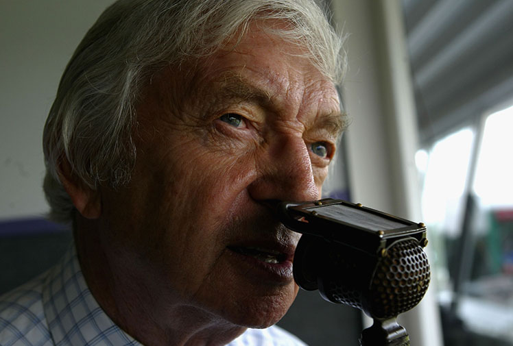 "<b>The death of Richie Benaud has forever expired one of the greatest voices of the sporting world.</b><br/><br/>Passing away in his sleep after battling skin cancer, Benaud was the 'voice of cricket' in Australia and was a respected commentator around the world.<br/><br/>From ""marvellous"" to ""22 for 2"", cricket fans around the world have been saying the former Australia captain's famous phrases in his distinctive voice.  <br/><br/>Here are some of the doyen of commentator's greatest moments behind the microphone. <br/>"