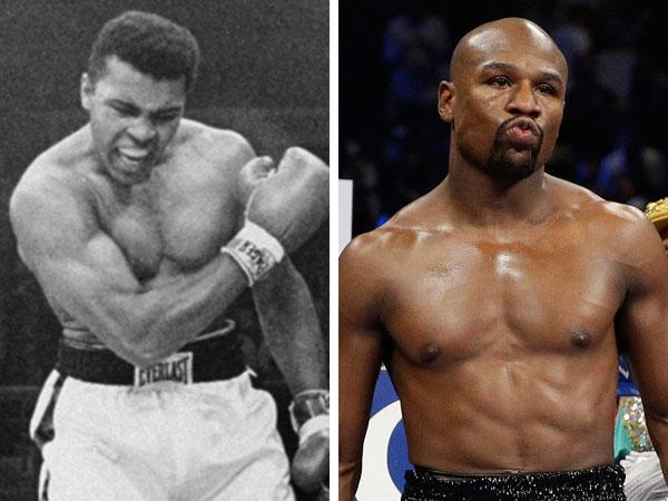 Muhammad Ali takes swipe at Mayweather