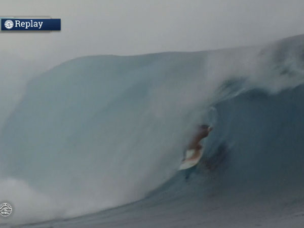 Fitzgibbons wins  Fiji Pro after nasty wipe-out