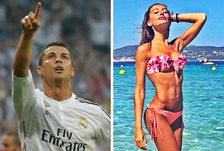 <b>Cristiano Ronaldo's love affair with glamourous models knows no bounds with rumours swirling he's dating an Italian beauty following his split from <i>Sport's Illustrated</i> regular Irina Shayk.</b><br/><br/>Ronaldo and actress Alessia Tedeschi reportedly began their romance after enjoying dinner following Real Madrid's Champions League draw with Juventus in Turin last month.<br/><br/>It appears that the former Miss Italia competitor is consoling the Ballon d'Or winner get over the trophyless season he endured with his club.<br/><br/><br/><br/><br/>