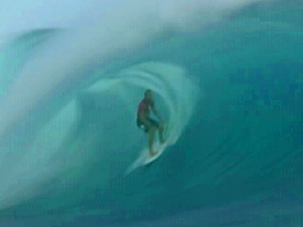 Aussie surfer Wright's historic 'perfect double'