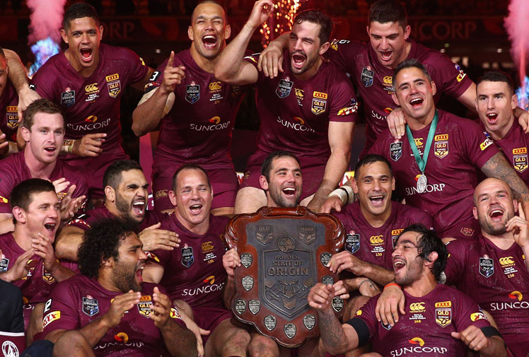 <b>If there was ever any doubt, Queensland again illustrated why they're the greatest Origin side ever in thrashing NSW 52-6 in the decider at Suncorp Stadium.</b><br/><br/>Johnathan Thurston and man of the series Corey Parker led the way for the home side in Justin Hodges' farewell Origin game, as a Maroons tide swept the Blues aside to score the biggest win in Origin history.<br/><br/>NSW had no answer to anything the Maroons did, with poor discipline and ball security repeatedly giving the home side opportunities that were gratefully taken.