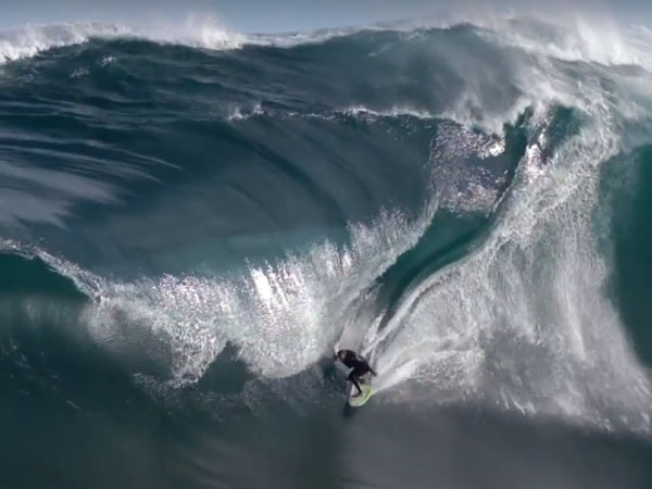 Surfer pays the price riding monster WA swell