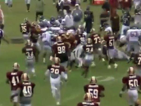 NFL teams turn practice into battleground